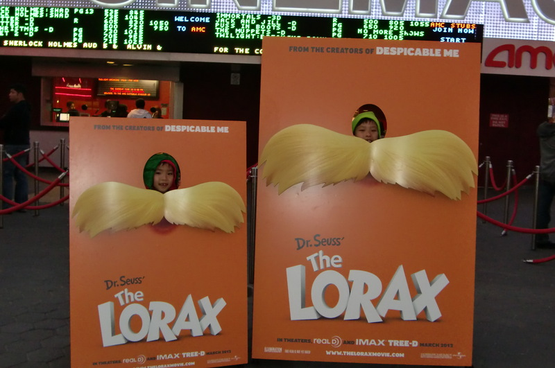 Comic foreground The LORAX