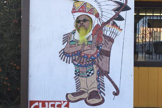 インディアンスタイルのカオパネ